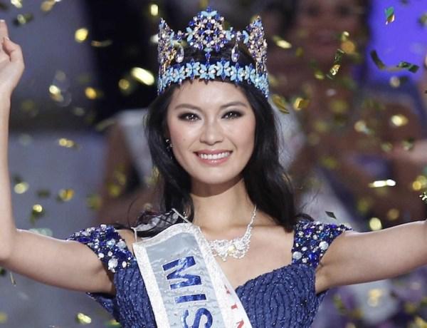 Election Miss monde 2012 : La Chine l'emporte