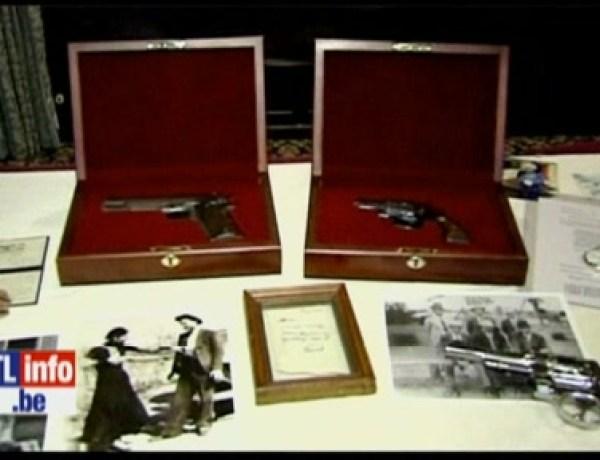 USA: les revolvers de Bonnie et Clyde vendus aux enchères 500.000 dollars