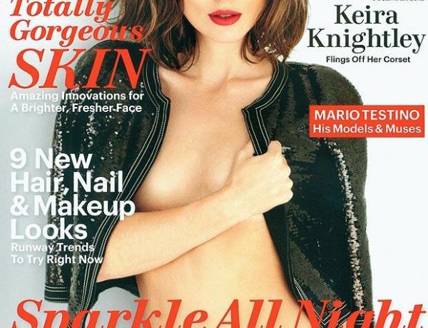 Keira Knightley: En mode topless!