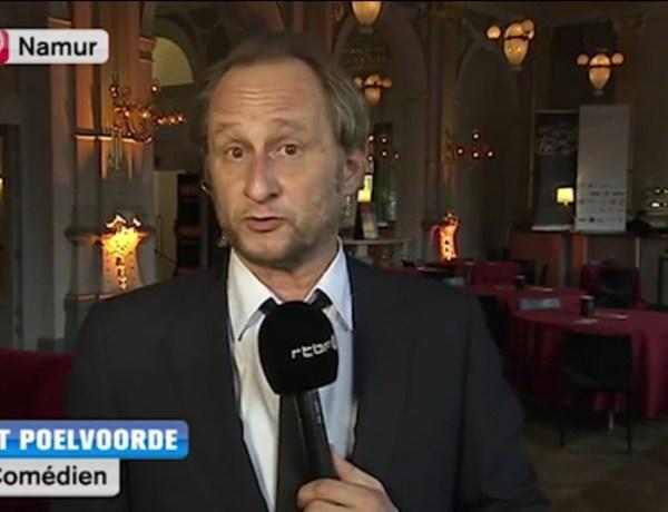 Benoît Poelvoorde en état d'ébriété sur la télévision belge