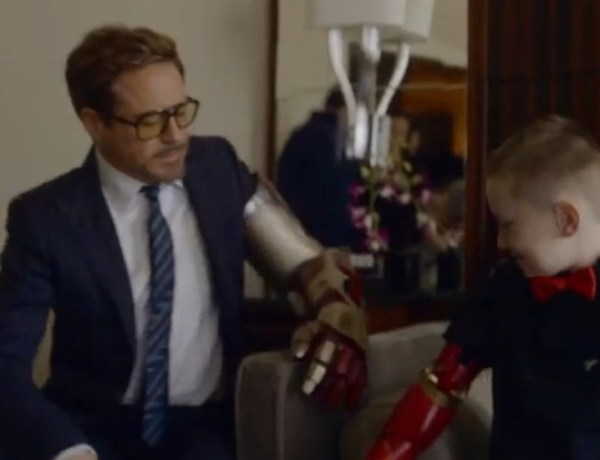L'incroyable cadeau d'Iron Man, alias Robert Downey Jr, à un petit garçon