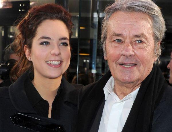La jolie déclaration d'Anouchka Delon à son papa