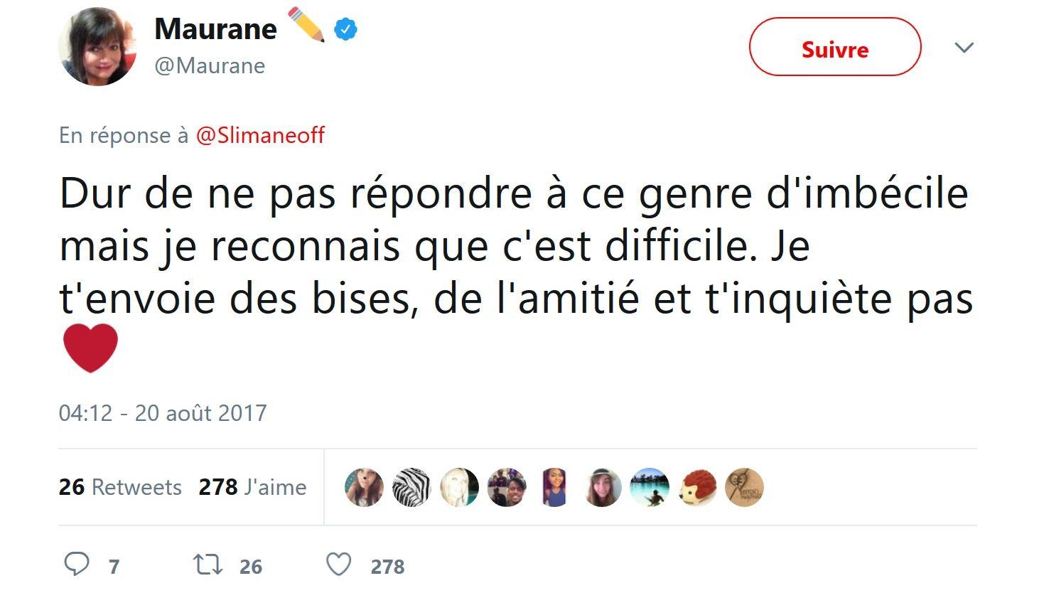 Slimane : Victime de propos racistes et homophobes, il répond sans violence