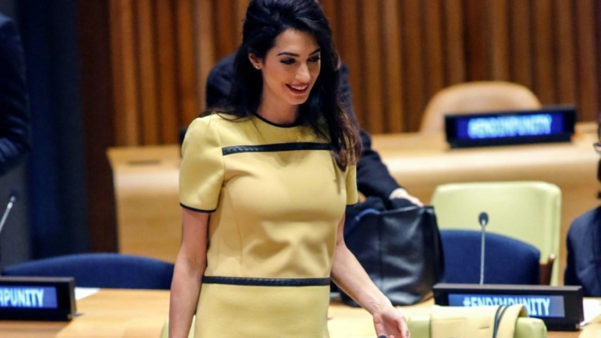 Amal Clooney va défendre deux journalistes détenus en Birmanie