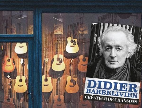 Concours : Gagnez le dernier album de Didier Barbelivien «Créateur de chansons»