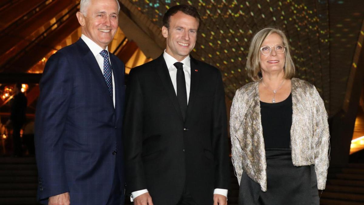 Oups ! Le «délicieux» lapsus d'Emmanuel Macron sur la femme du Premier ministre australien