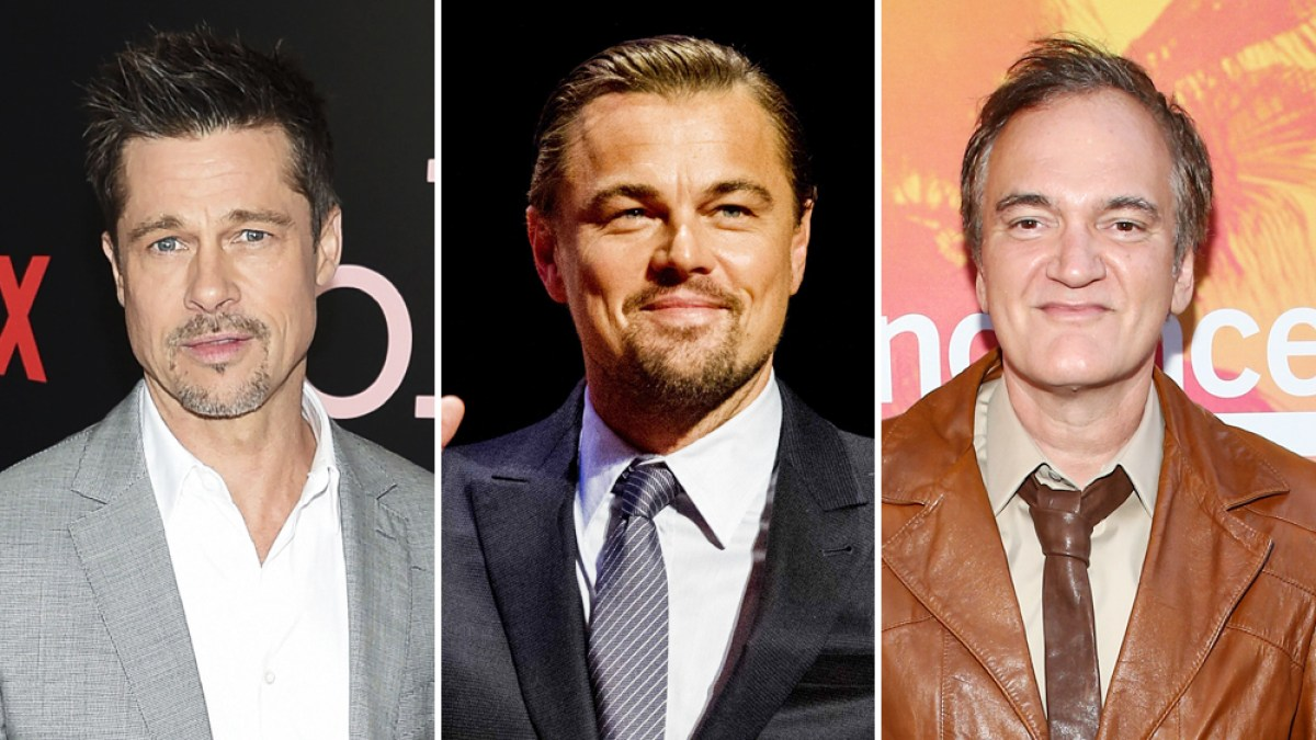 Brad Pitt et Leonardo DiCaprio réunis dans le prochain film de Tarantino : La première photo !
