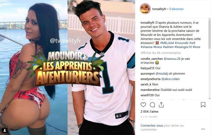 Shanna Kress et Adrien Laurent : En binôme dans « Moundir et les Apprentis Aventuriers » ?