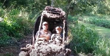 Hilarant ! Leur sortie en buggy tourne au bain de boue