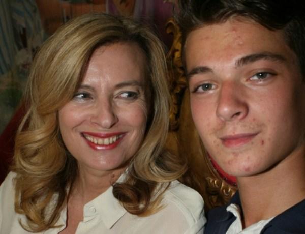 Valérie Trierweiler adresse un tendre message à son fils Léonard à l'occasion de son anniversaire