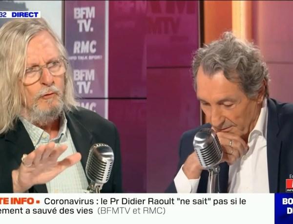 Didier Raoult s'emporte face à Jean-Jacques Bourdin : «Je vais me lever et m'en aller»
