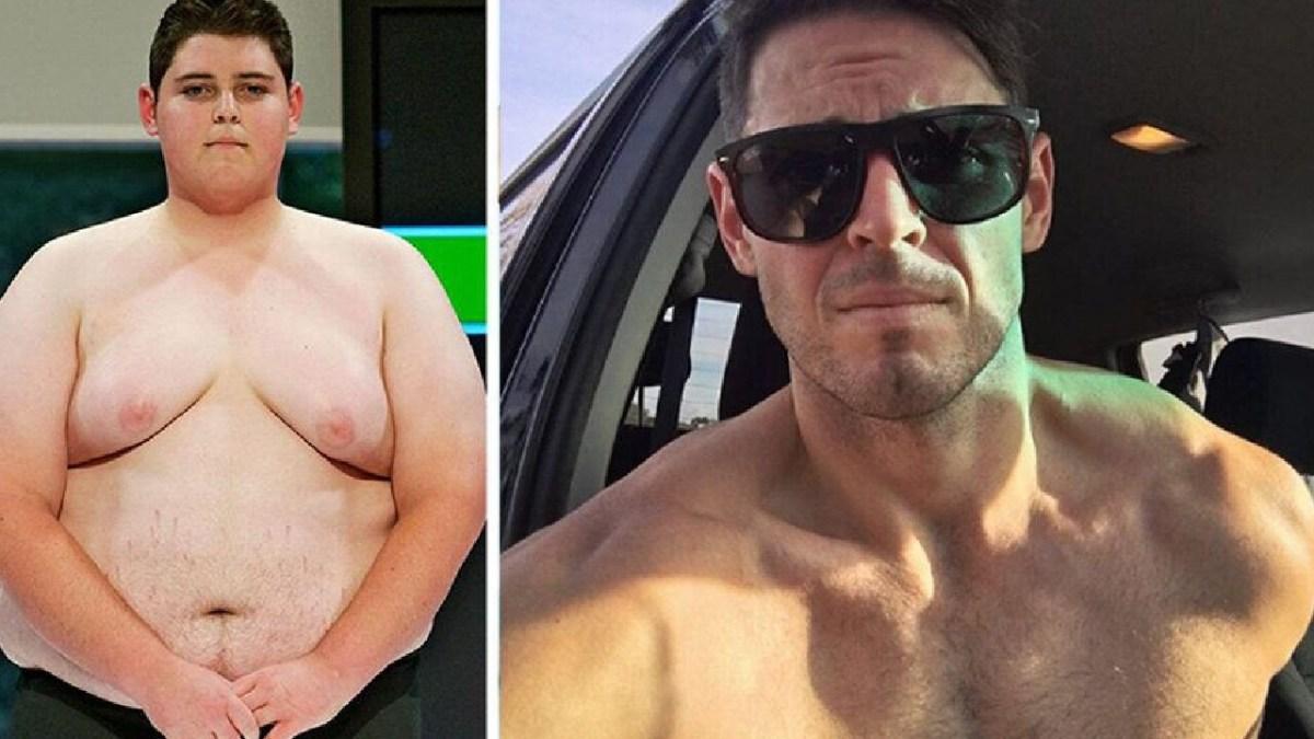 Transformation radicale : D'ado obèse à pompier ultra-sexy