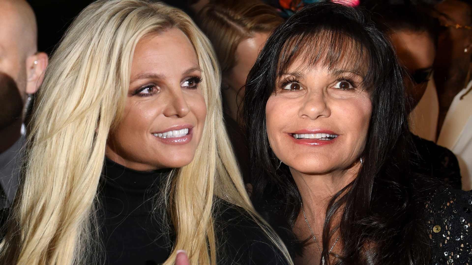 Britney Spears et sa mère Lynne Spears