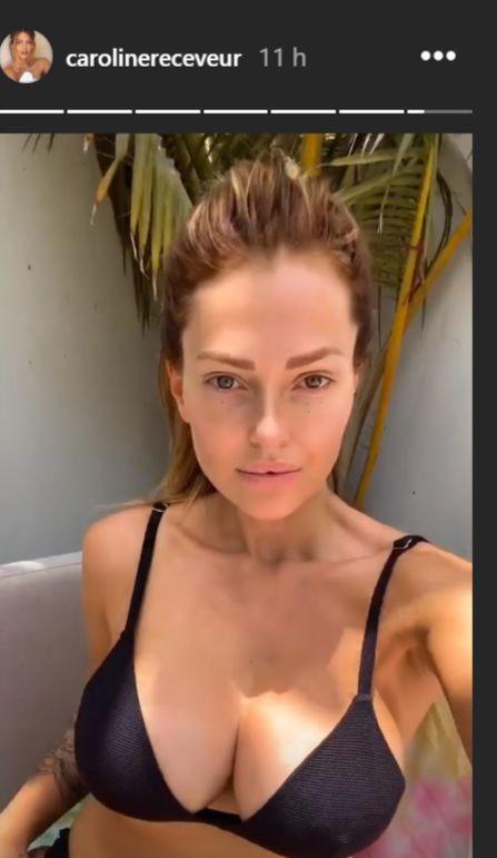 Caroline Receveur et Kelly Vedovelli : Concours de décolletés plongeants sur la Toile