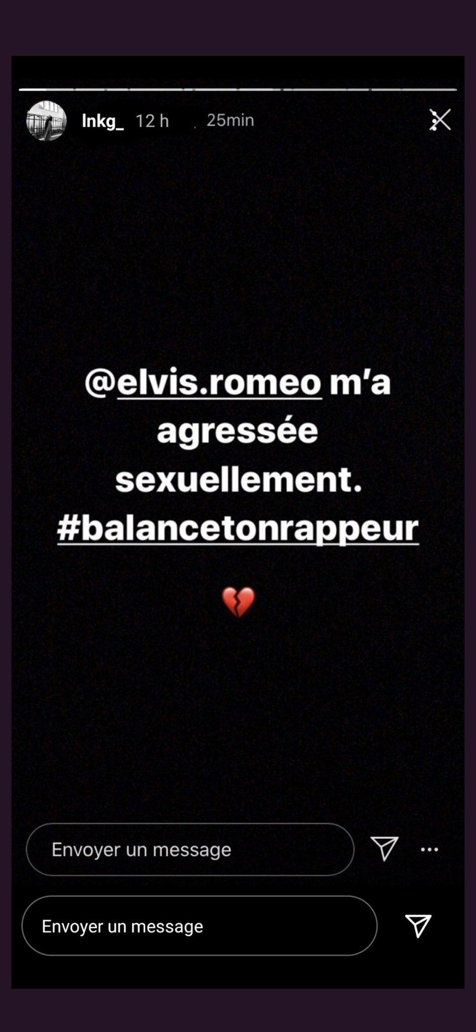 #balancetonrappeur : Roméo Elvis accusé d'agression sexuelle