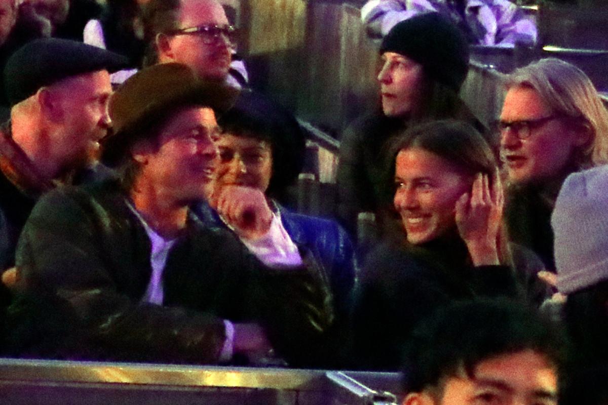 Brad Pitt : sa petite-amie Nicole Poturalski retourne avec son mari