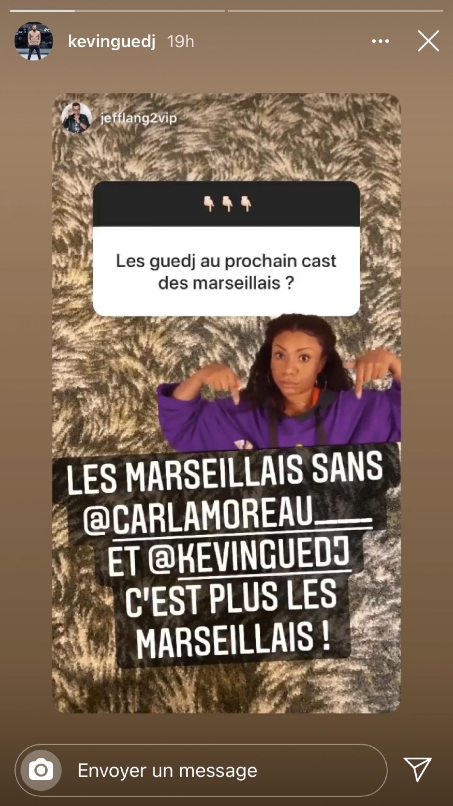 Carla Moreau et Kevin Guedj absents de la prochaine saison des Marseillais : Ce message qui en dit long