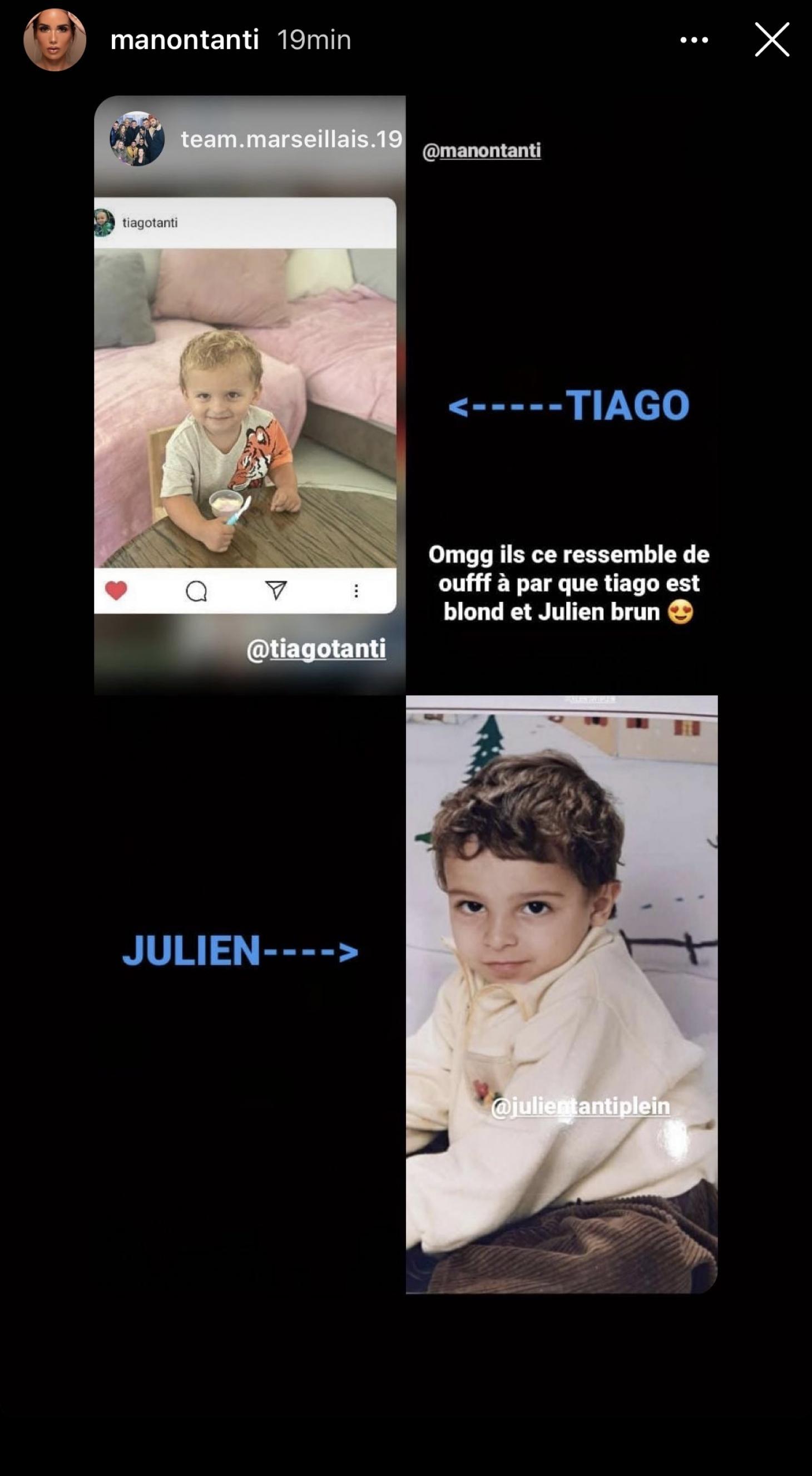 Julien Tanti : son fils Tiago est son portrait craché