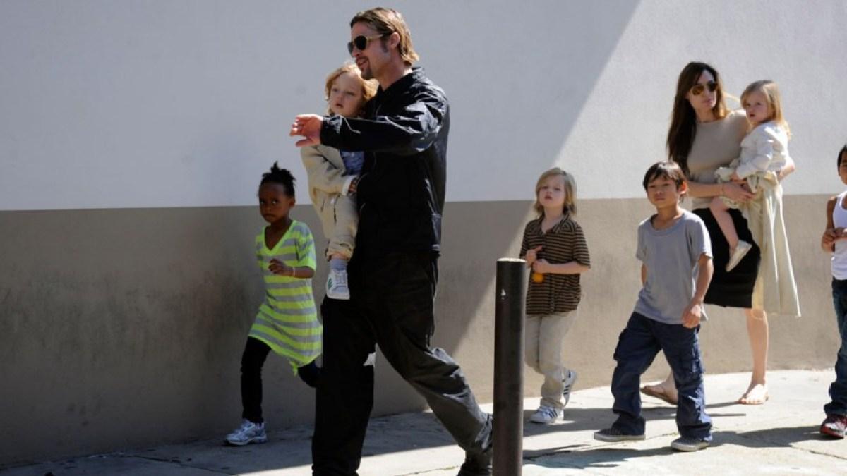 Brad Pitt privé de certains de ses enfants à Noël
