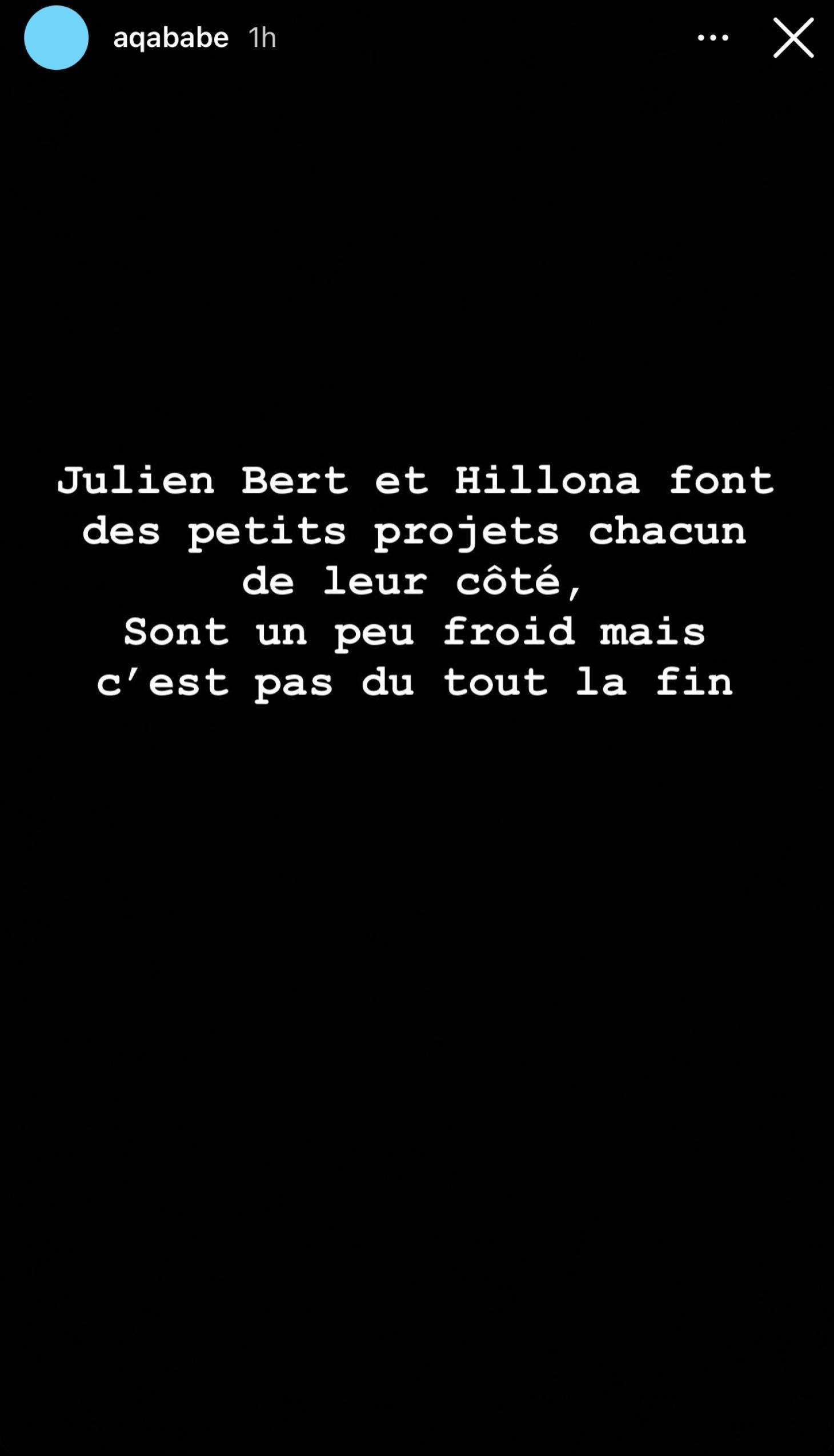 Julien Bert et Hilona (LPDLA8) : en froid ? Cette réaction qui ne laisse plus de place au doute