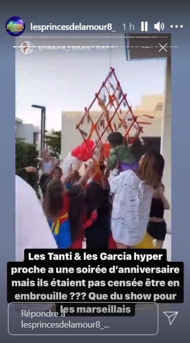 Julien Tanti, Manon Marsault, Jessica Thivenin et Thibault Garcia réunis à une fête d'anniversaire : la vidéo qui fait jaser