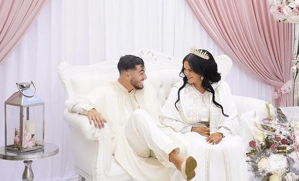 Sarah Fraisou : tendre déclaration d'amour à son mari Ahmed