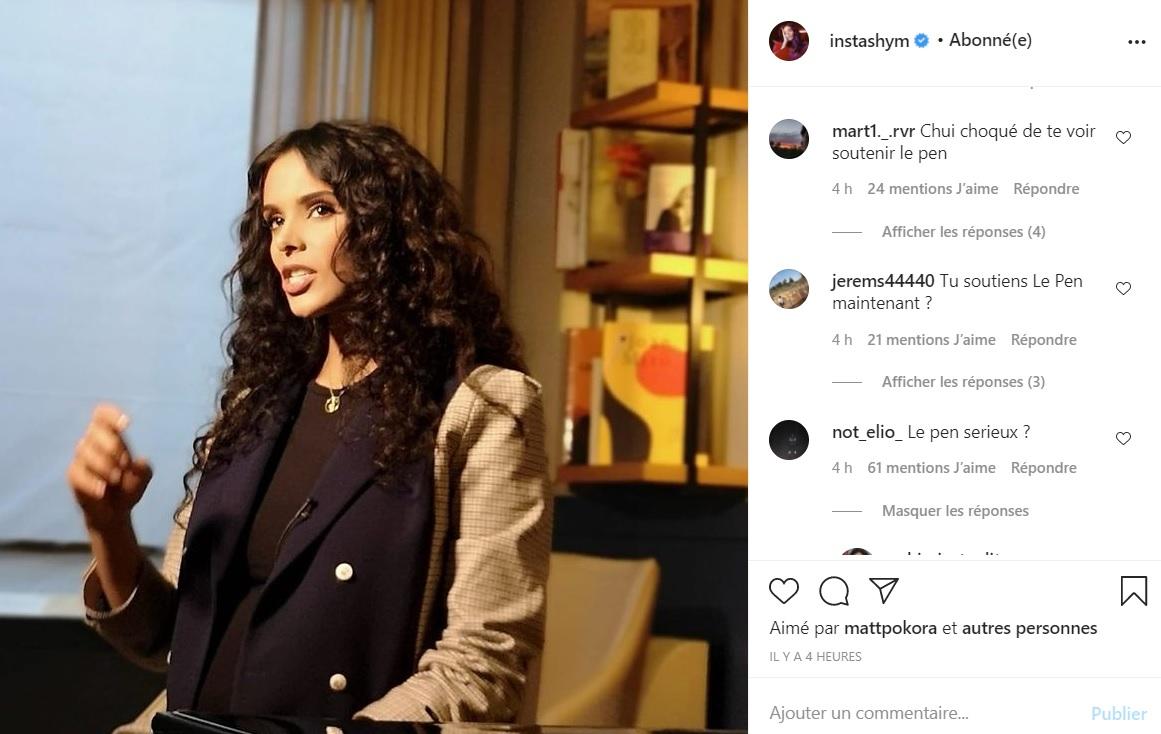 Shy'm enceinte : la chanteuse violemment attaquée sous sa dernière photo Instagram