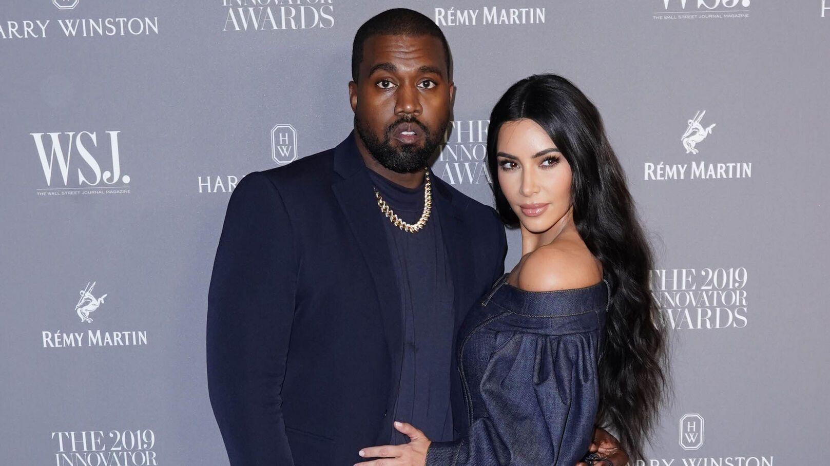 Kim Kardashian et Kanye West sur le point de divorcer © STARMAX