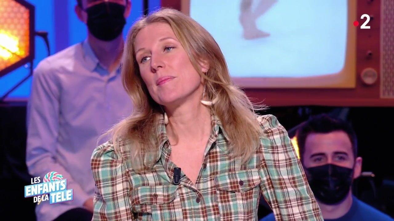 """Agathe Lecaron mal à l'aise sur le plateau des Enfants de la télé : """"C'est l'ex-femme de mon mari"""""""