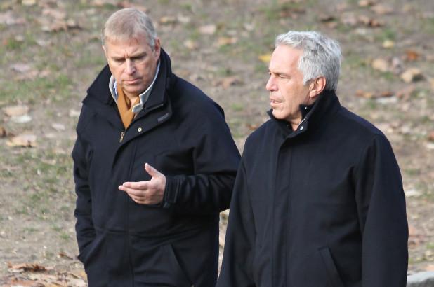 Prince Andrew et Jeffrey Epstein