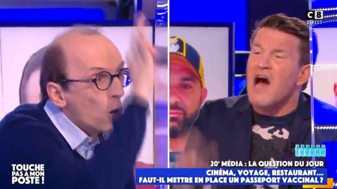 """TPMP : Benjamin Castaldi en colère ! """"Ouvrez les yeux deux secondes"""""""