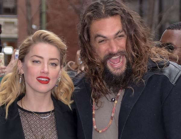 Aquaman 2 : Jason Momoa et Amber Heard en froid sur le tournage du film ?