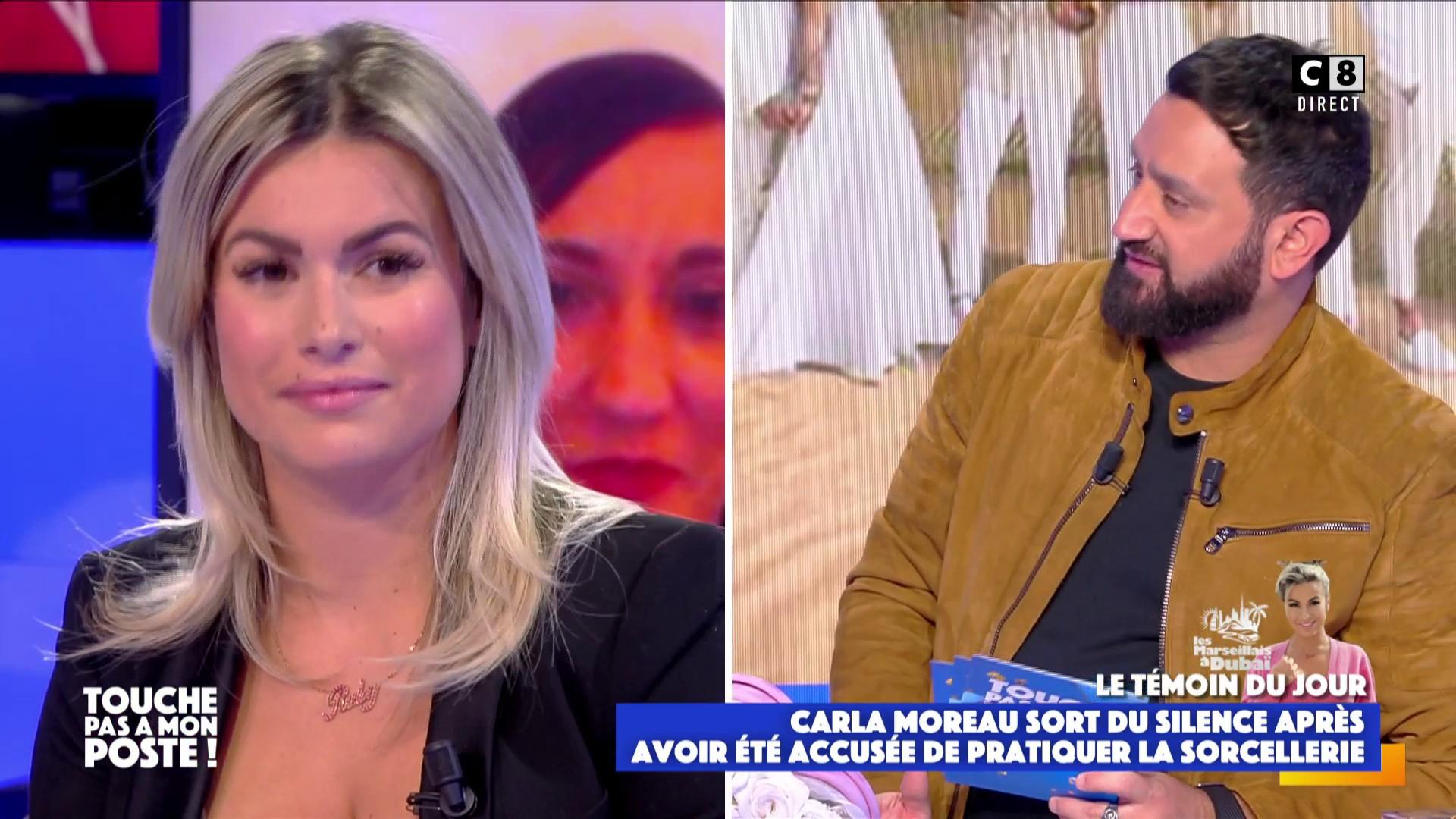 """Carla Moreau invitée dans TPMP : """" Il y a des Marseillais qui ne sont pas contents"""""""
