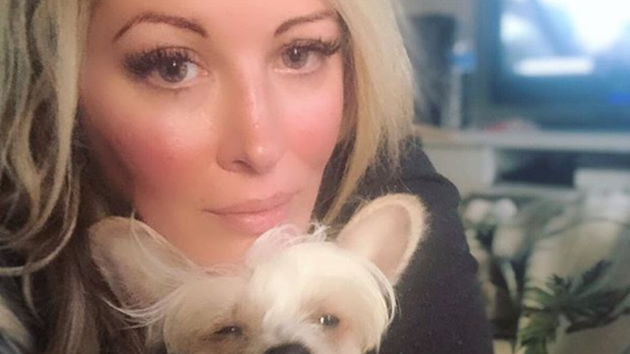Loana et son chien