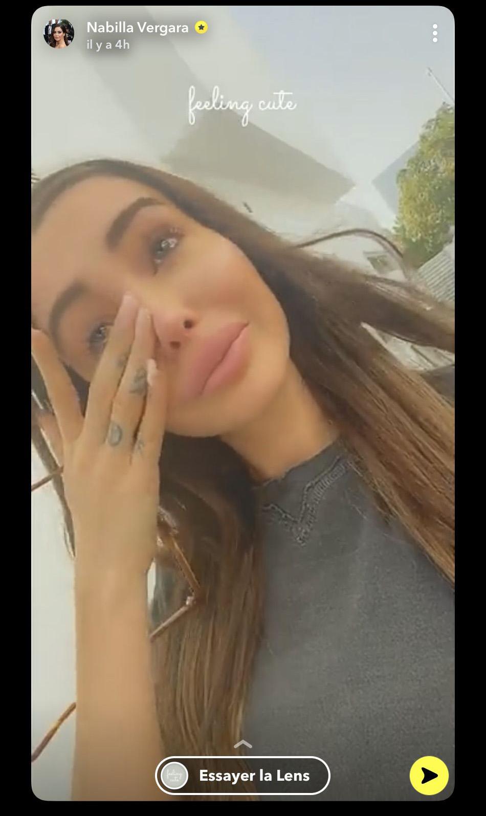 Nabilla : sur le point d'annoncer une très grande nouvelle à ses abonnés ? elle fond en larmes !