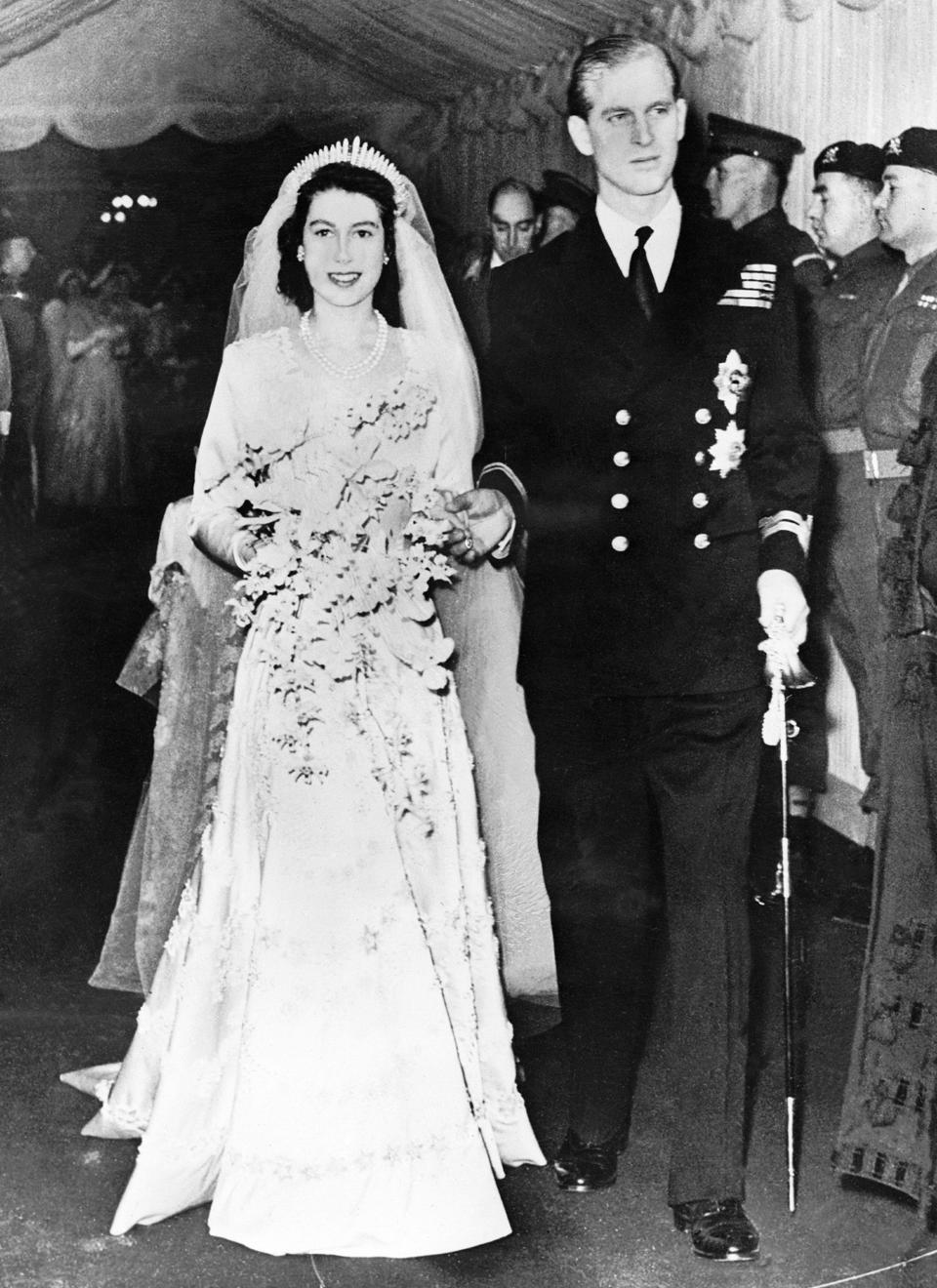 Elizabeth II et Philip d'Édimbourg