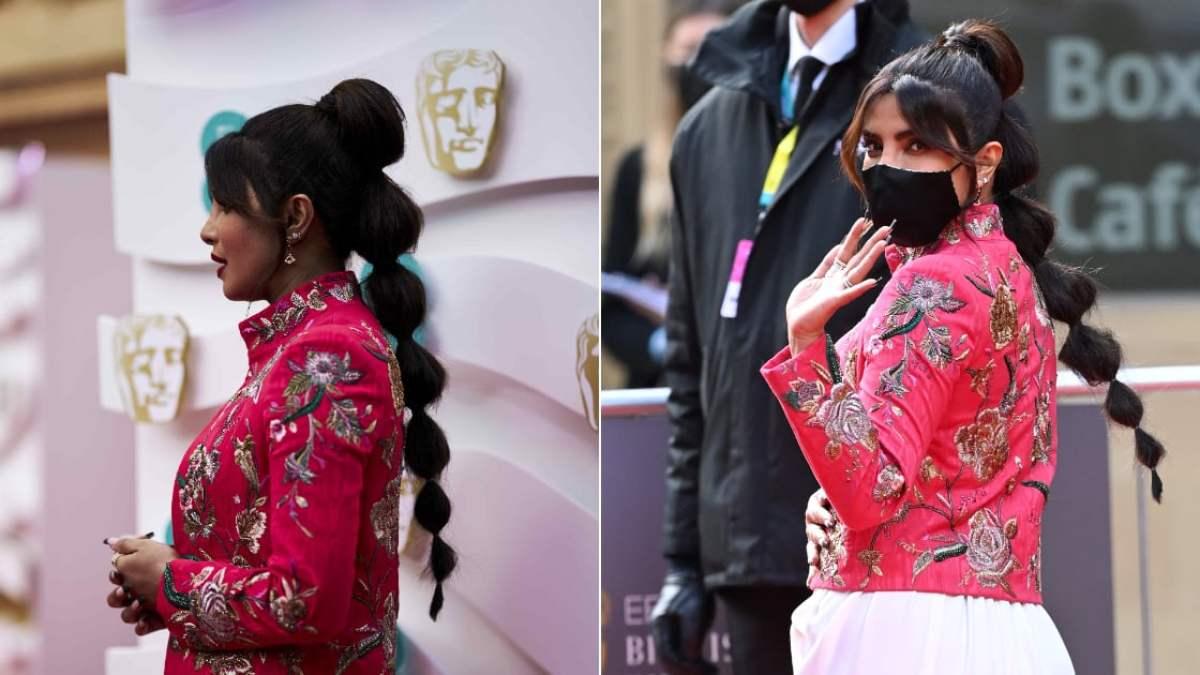 Le Bubble braid : La coiffure gonflée très remarquée de Priyanka Chopra