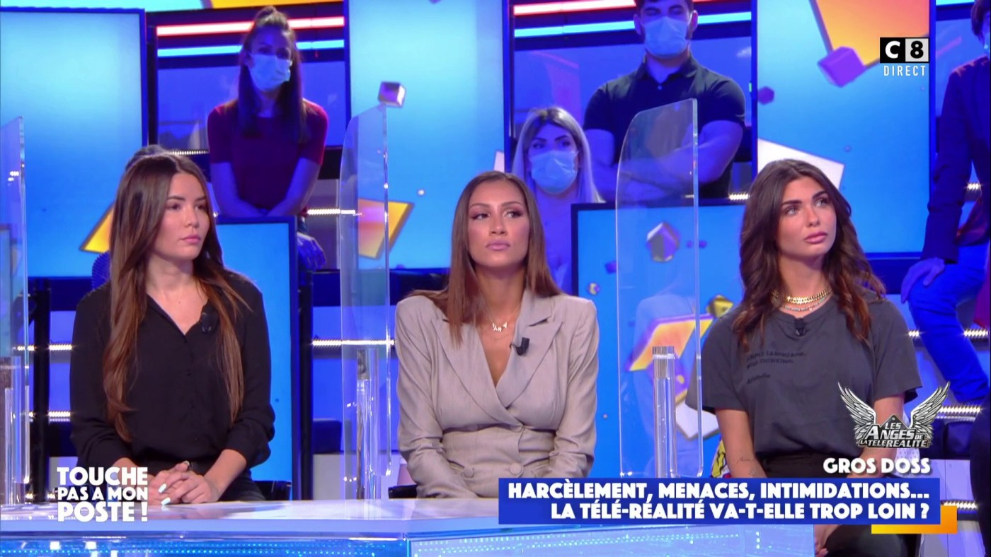 Angèle Salentino, Rania Saïdi et Nathanya Sion