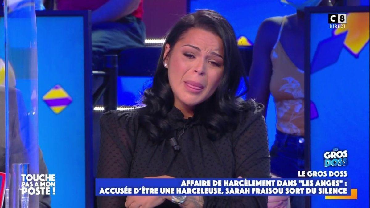 Sarah Fraisou accusée de harcèlement : Sa défense dans TPMP ne convainc pas du tout les internautes