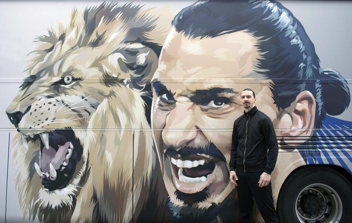 Zlatan Ibrahimovic au cœur d'un scandale: il aurait tué un lion!