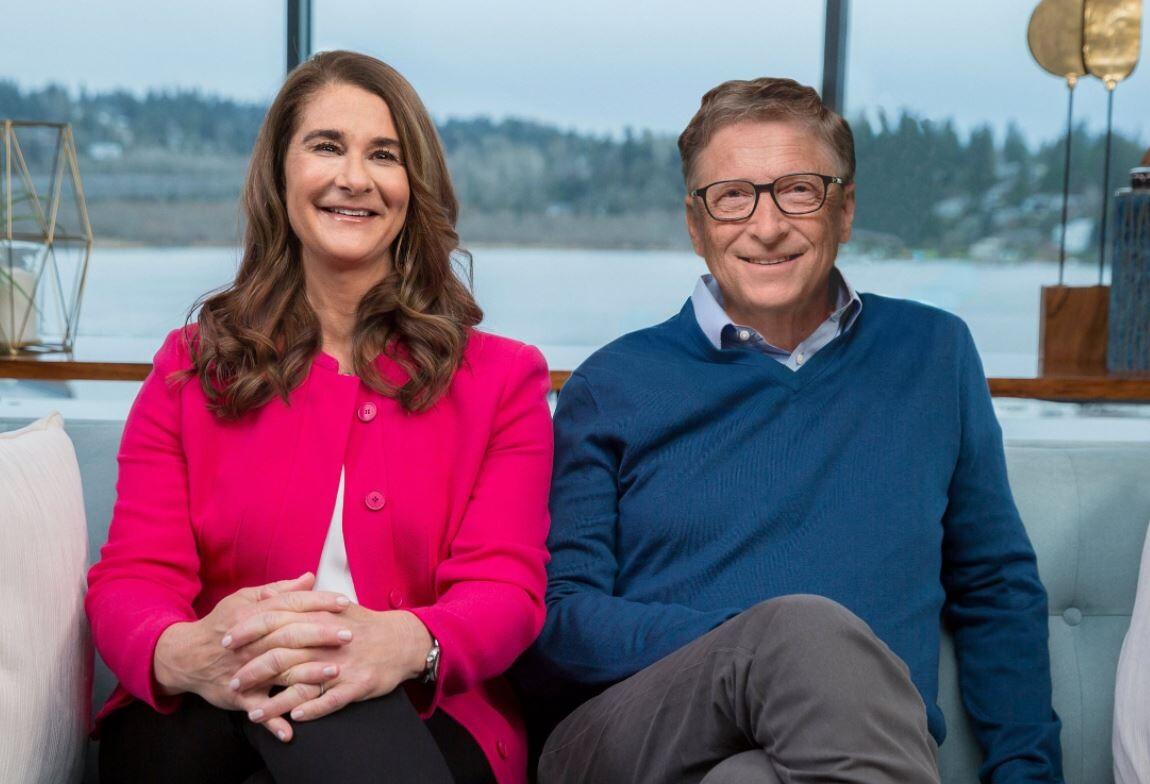 Melinda et Bill Gates