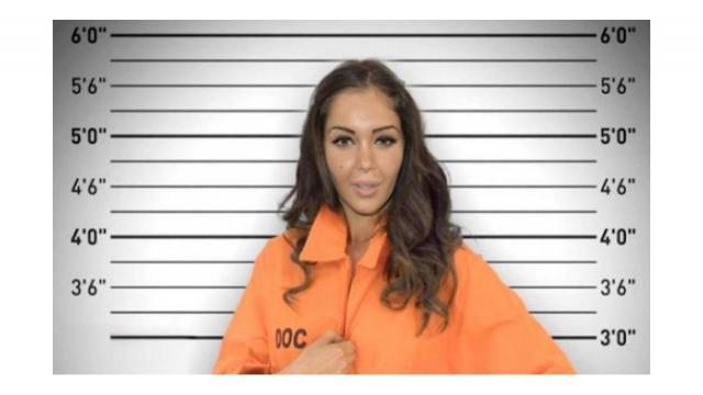 Nabilla Vergara était en prison pendant un peu plus d'un mois