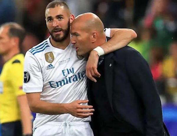 Karim Benzema: Son message touchant à Zinédine Zidane pour son départ du Real Madrid