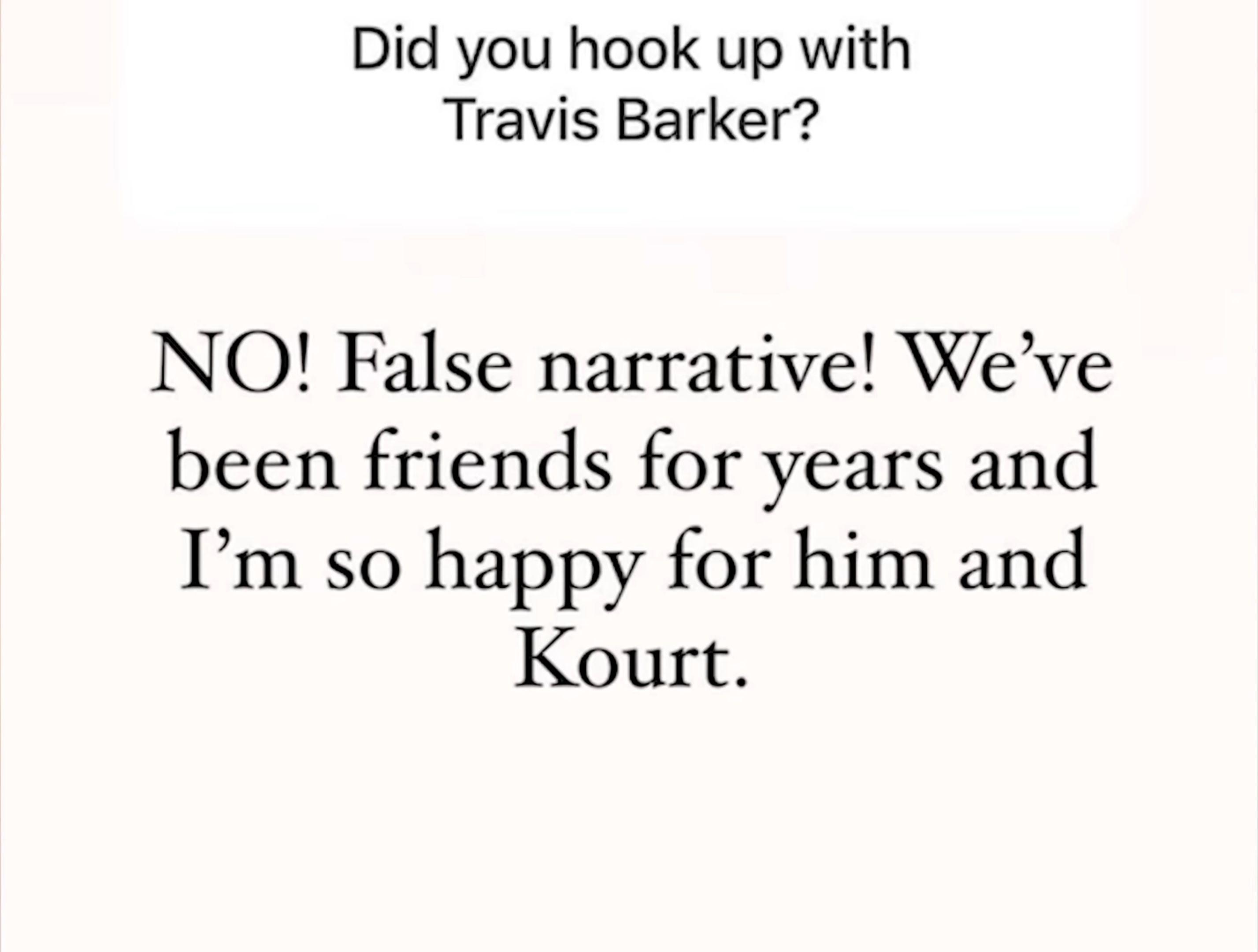 Kim Kardashian : A-t-elle couché avec Travis Barker, le compagnon de Kourtney ? Elle répond !