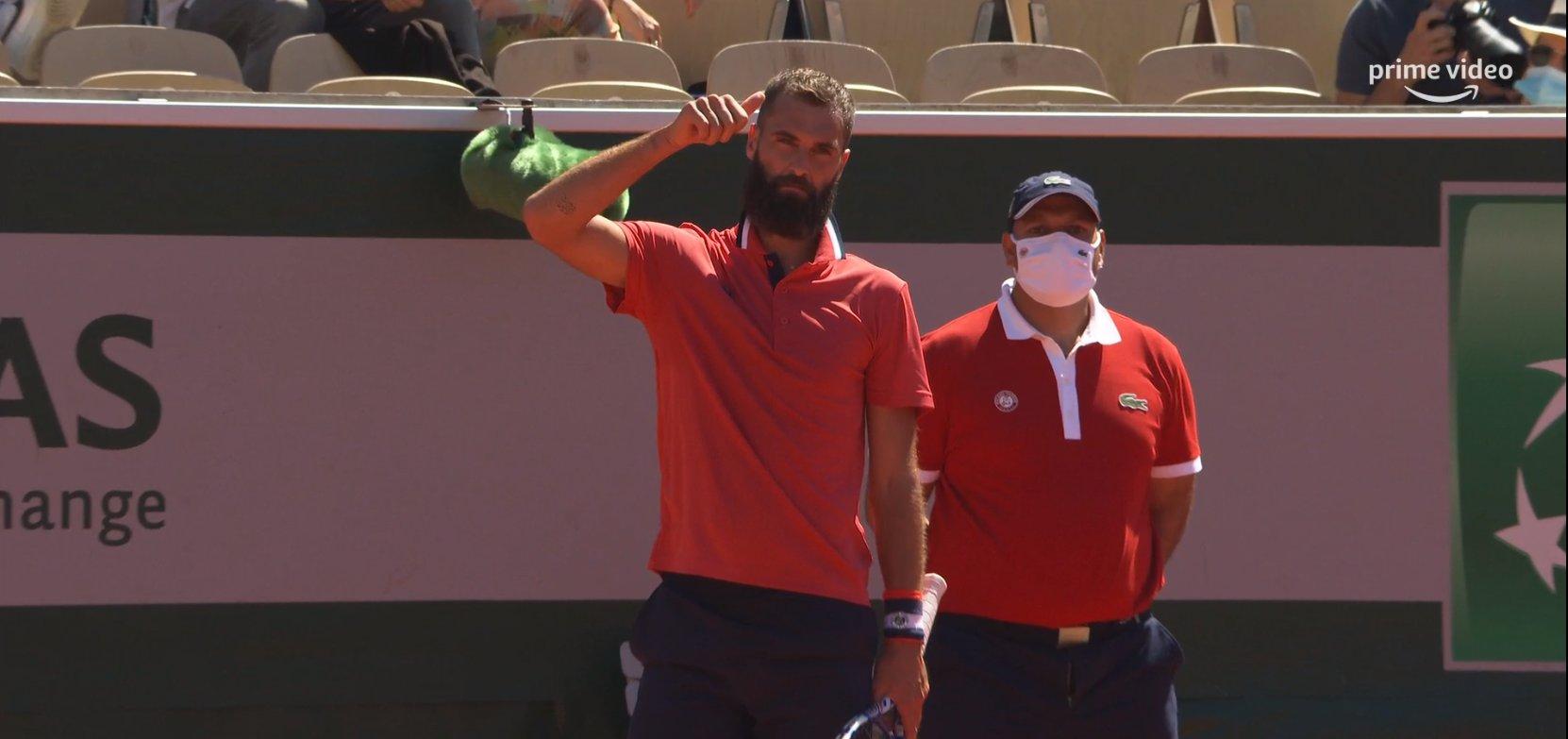 Roland-Garros : Benoît Paire en larmes... mais acclamé par le public !