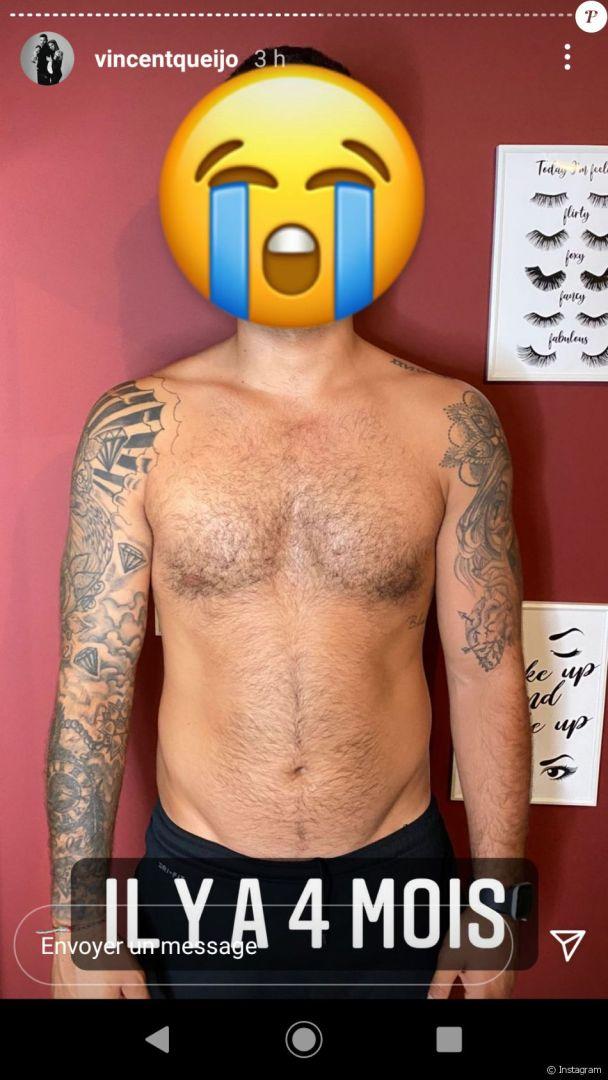 Vincent Queijo dévoile son énorme transformation physique