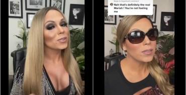 Il se transforme en Mariah Carey et les internautes voient double !