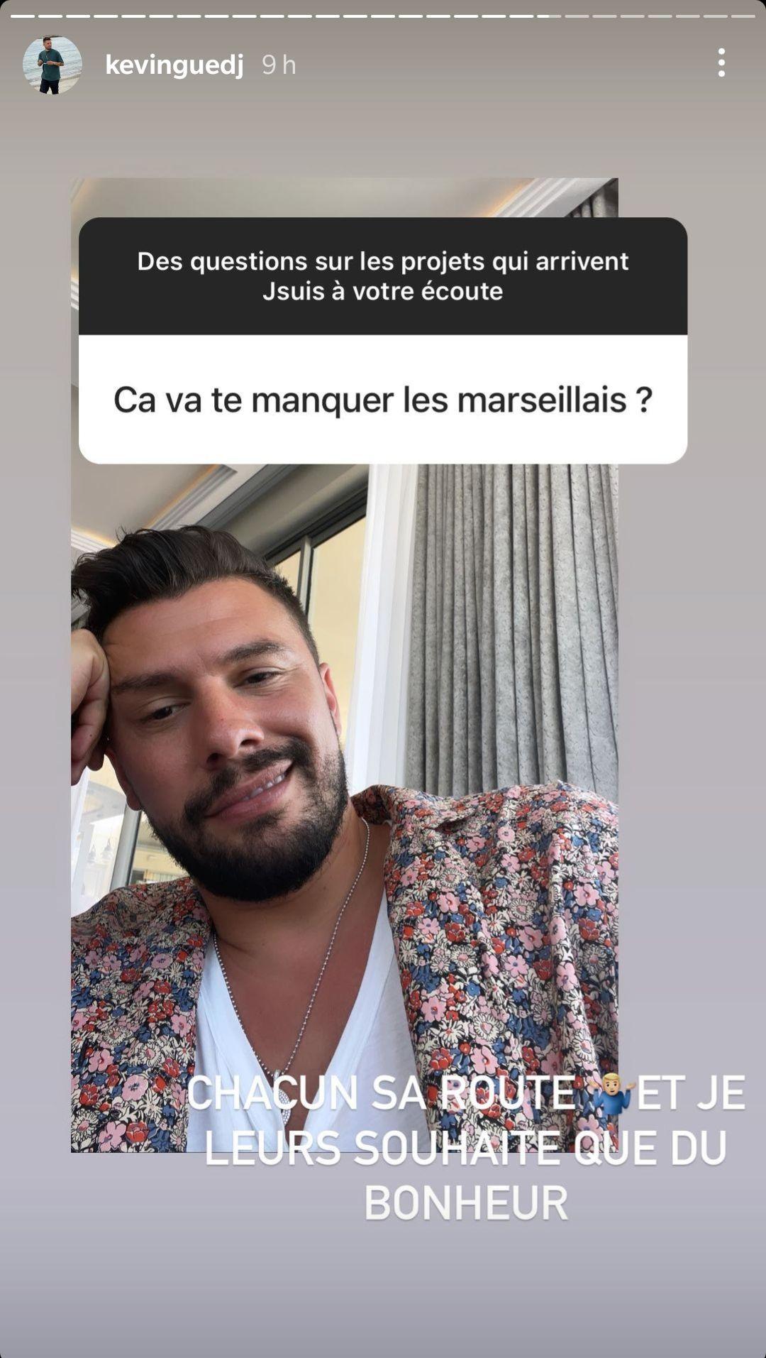 """Kevin Guedj s'exprime sur son départ des Marseillais et ses nouveaux projets : """"Chacun sa route"""""""