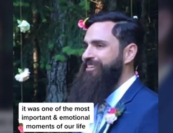 La grosse boulette de cet homme le jour de son mariage
