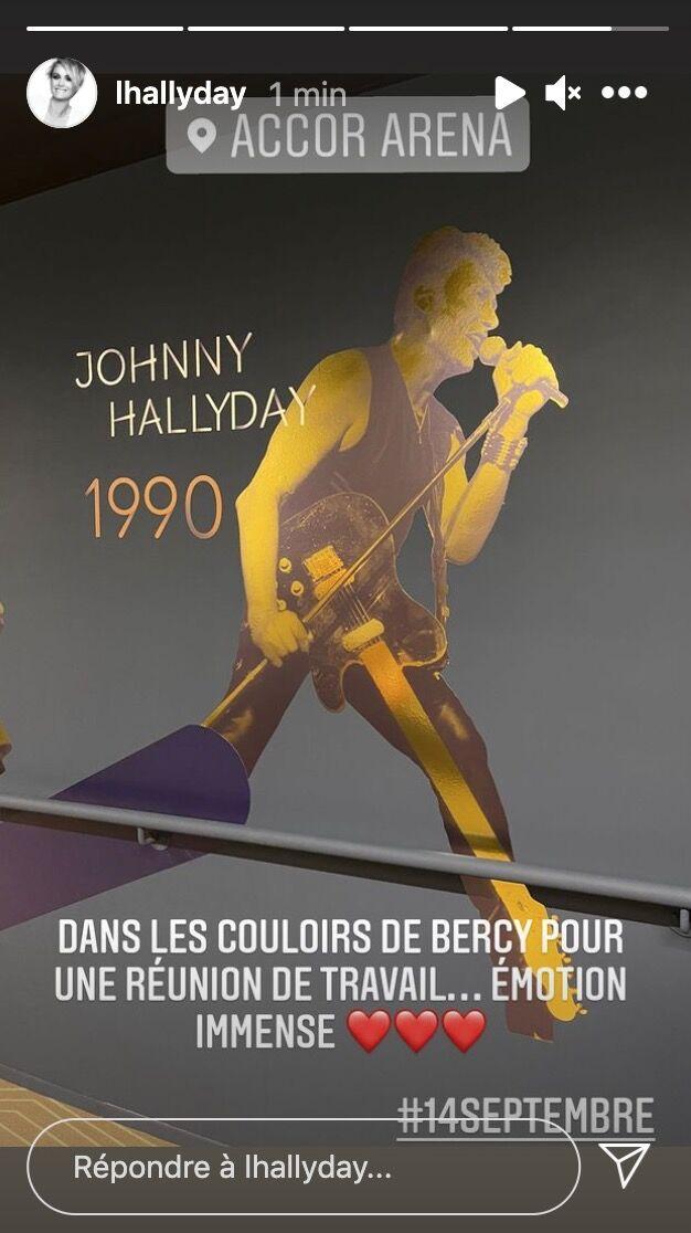 Laeticia Hallyday dévoile un émouvant cliché de l'hommage prévu à Johnny Hallyday